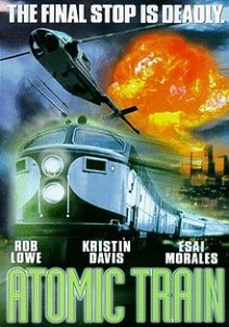 "Movie poster for ""Atomic Train"""